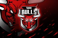 , Bulls - Mascot & Esport Logo- Suitable for your personal or squad logo, All elements on this template are editable with adobe illustrator! Bulls Wallpaper, Smile Wallpaper, Qhd Wallpaper, Bull Logo, Game Logo Design, Esports Logo, Graphic Design Templates, Logo Templates, Creative Logo