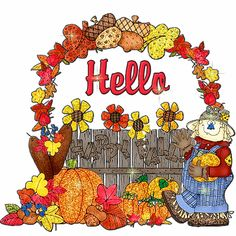 Hello Happy Fall autumn fall autumn quotes fall quotes welcome autumn fall greeting autumn greeting fall images welcome fall autumn images fall gifs autumn gifs autumn nature fall nature Hi Images, Fall Images, Gif Greetings, Autumn Theme, Autumn Fall, Autumn Nature, Autumn Leaves, Winter, Hello Quotes