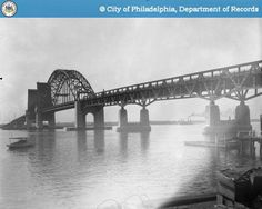 From Palmyra, NJ to Tacony section of NE Philly. Still in use today!!