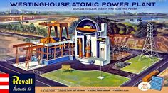 Nuclear Power Plant Model Kit