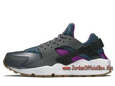 best loved aef08 db7d1 Nike Wmns Air Huarache Run  Dark grey Teal  634835-016 Femme Enfant