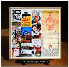 art scrap & more: 2014 in 52 Pages ➲ WEEK45 // SEMAINE45 - TUTO