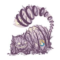 Inside Wonderland, Alice in Wonderland / Disney / Cheshire Cat Shirt | TeeFury