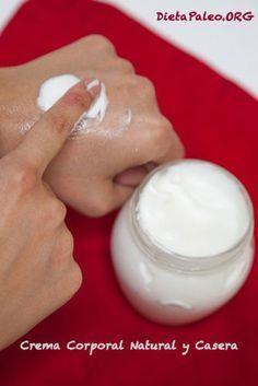 Crema corporal natural casera - Dieta Paleo