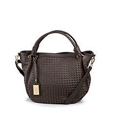 Braune geflochtene Tasche von Buffalo  #buffalo #bag #tasche #style #trend