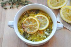 Lemon and Orzo Soup
