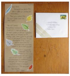 #42 - Send someone a letter by mail just because.  #100Thingsin2013