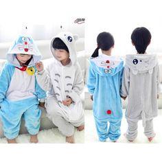 Doraemon Totoro Children Onesies Kigurumi Sleep Suit Huispak