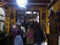 Casa-taller de Jose Luis March, en el barrio del Carmen. Uno de los pocos talleres que conservan la tradición artesanal desde época medieval. #CaminsGremials