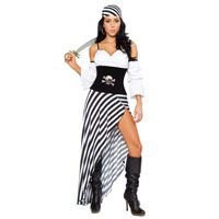 Adult Sexy Pirate Lass Costume - This costume will make you the most attractive deck hand on any ship or party!