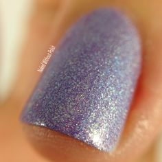 Macro of Blue-Eyed Girl Lacquer for Hella Holo Customs Atalanta @beglsales
