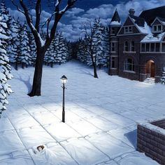 Amazing artist, Rob Gonsalves. Love all of the images on this page, but this one the most. Gorgeous!