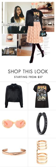 """""""You make me hum when I'm near you"""" by gizibe ❤ liked on Polyvore featuring Acne Studios, Lynn Ban and Repossi"""