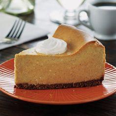 Pumpkin Cheesecake with Chocolate Crumb Crust at Mariano's