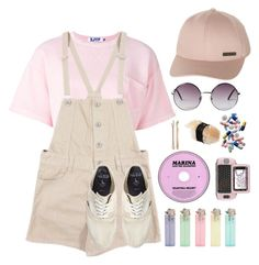 """Marina and the Sushi <3 ✌️"" by tim-tam101 on Polyvore featuring Steve J & Yoni P, Billabong, Monki, Juicy Couture, Madewell and Jack Wills"