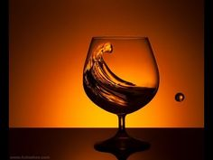 How to photograph glass of water. Studio Photography lessons, tips and tutorials