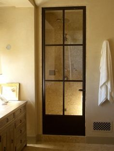shower door....