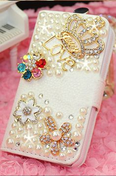 Bling Iphone case wallet