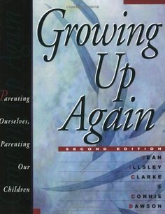 Growing Up Again: Parenting Ourselves, Parenting Our Children by Jean Illsley Clarke, http://www.amazon.com/dp/1568381905/ref=cm_sw_r_pi_dp_jqiuqb0N74MPG