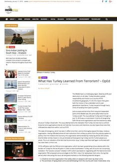 What Has Turkey Learned From Terrorism?