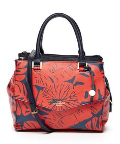 This Red Leaf Double-Handle Satchel is perfect! #zulilyfinds