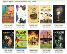 GoodReads:  Dig Into Reading Book List