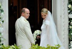 Albert e Charlene di Monaco