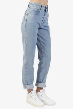 Cougar Mom Jeans By Ragged Priest - Blue