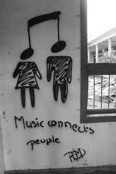 Music connects people. #tattoo