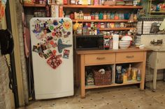 The Kitchen! The most important room in the house for the girls cupcake business. #2BrokeGirls