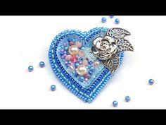 Здравствуйте! в этом видео покажу и расскажу, как просто вышить маленькое игривое сердце бисером и разными бусинами. Почему сердце голубое?