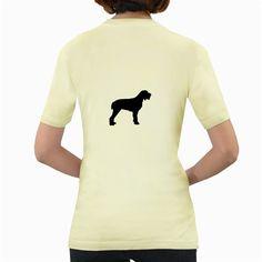 Spinone+Italiano+Silo+Black+Women's+Yellow+T-Shirt