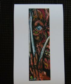 Freddy Krueger Art Print by My Dying Muse Movie Monsters Freddy Krueger, Monsters, Muse, Art Prints, Movies, Painting, Ebay, Art Impressions, Films