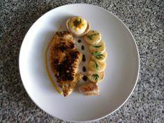 Cotolette de poulet au palermitaine pommes de terre et tartellette au  carottes Gino D'Aquino