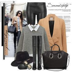 Sem título #2347 by bellerodrigues on Polyvore featuring polyvore, fashion, style, Parka London, MuuBaa, Stuart Weitzman, Givenchy, rag & bone and Victoria Beckham