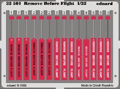 Remove Before Flight 1/32 - Eduard Store