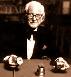 "Dai Vernon--we knew him simply as ""The Professor"". Enough said."