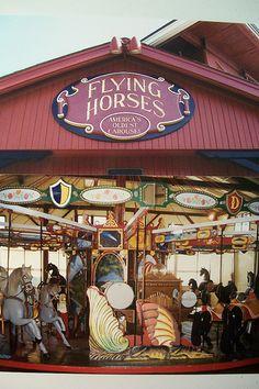 Flying Horses Carousel #OaksBluffs #MarthasVineyard