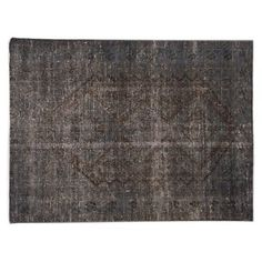 """Check out this item at One Kings Lane! Overdyed Rug, 5'2"""" x 7'"""