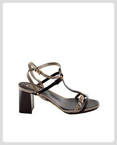 Tod's , Damen Sandalen nero - naturale, - nero - naturale - Größe: 38,5 EU - Sandalen für frauen (*Partner-Link)