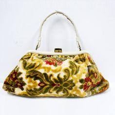 1960s Carpet Handbag now featured on Fab.