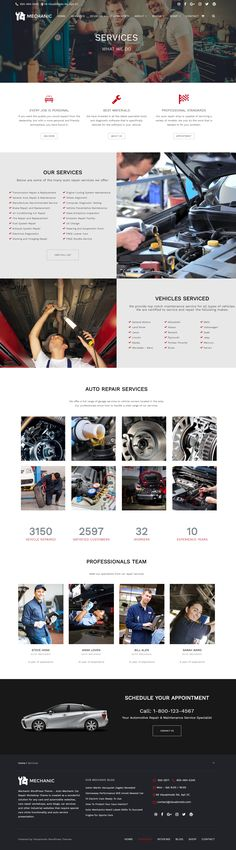 Mechanic WordPress theme - Auto and Car Repair Services WordPress Theme https://visualmodo.com/theme/mechanic-wordpress-theme/ Auto mechanic car repair workshop theme is created as a wonderful solution for any cars and automobile websites, cars repair workshops, auto blogs, car services and other industrial websites that require special cars niche functionality and auto service presentation #WordPress #Theme #Mechanic #Services #Blog #Responsive #SiteBuilder #WebDesign #Business #Responsive