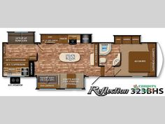 New 2015 Grand Design Reflection 323BHS Fifth Wheel at Campers Inn | Byron, GA | #13272