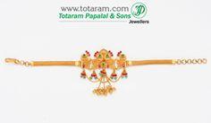 Totaram Jewelers: Buy 22 karat Gold jewelry & Diamond jewellery from India: Arm Vanki