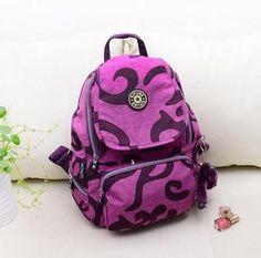 Travel Backpack Waterproof Nylon Shoulder Bag Handbag