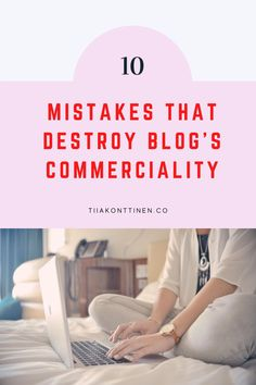 10 MISTAKES THAT DESTROY BLOG'S COMMERCIALITY I In this post, I'll go through 10 mistakes that destroy blog's commerciality. It has been a long time since just about anything was written on the blog, and blurry, dark pictures accompanied the text. So are you ready to find out the 10 mistakes that destroy blog's commerciality? #blogging #bloggingtips #profitable blog #tiiakonttinen Make Money Blogging, Make Money Online, How To Make Money, How To Start A Blog, How To Find Out, Dark Pictures, Blog Names, Blog Topics, Social Media Channels