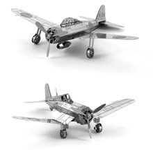 Metal Earth 3D Laser Cut Models - Mitsubishi Zero AND F4U Corsair WWII Airplanes = SET OF 2. Available at OurPamperedHome.com