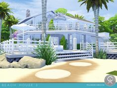 The Sims Resource: Beach House 2 by Pralinesims