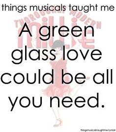 A Green Glass Love Could Be All You Need.