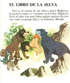 Principio del cuento Libro de la selva